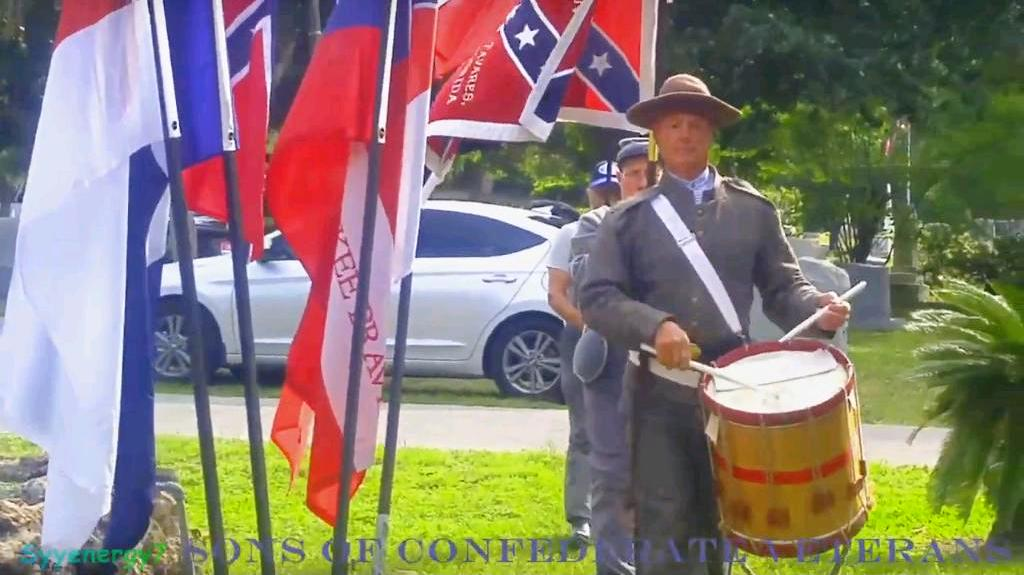 Color Guard April 13, 2019, Lone Oak Cemetery, Leesburg