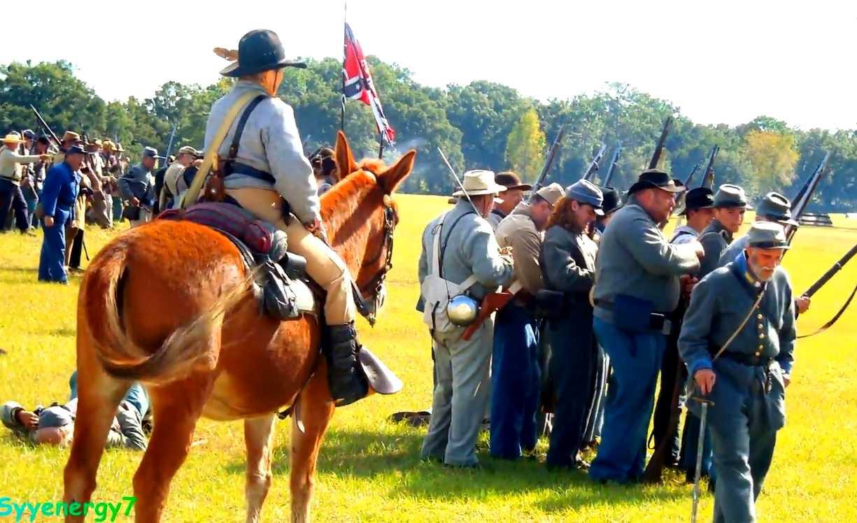 Confederate Reenactment, Ocklawaha
