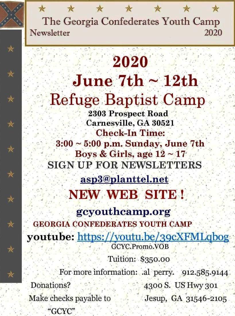 Georgia Confederates Youth Camp_Page_1