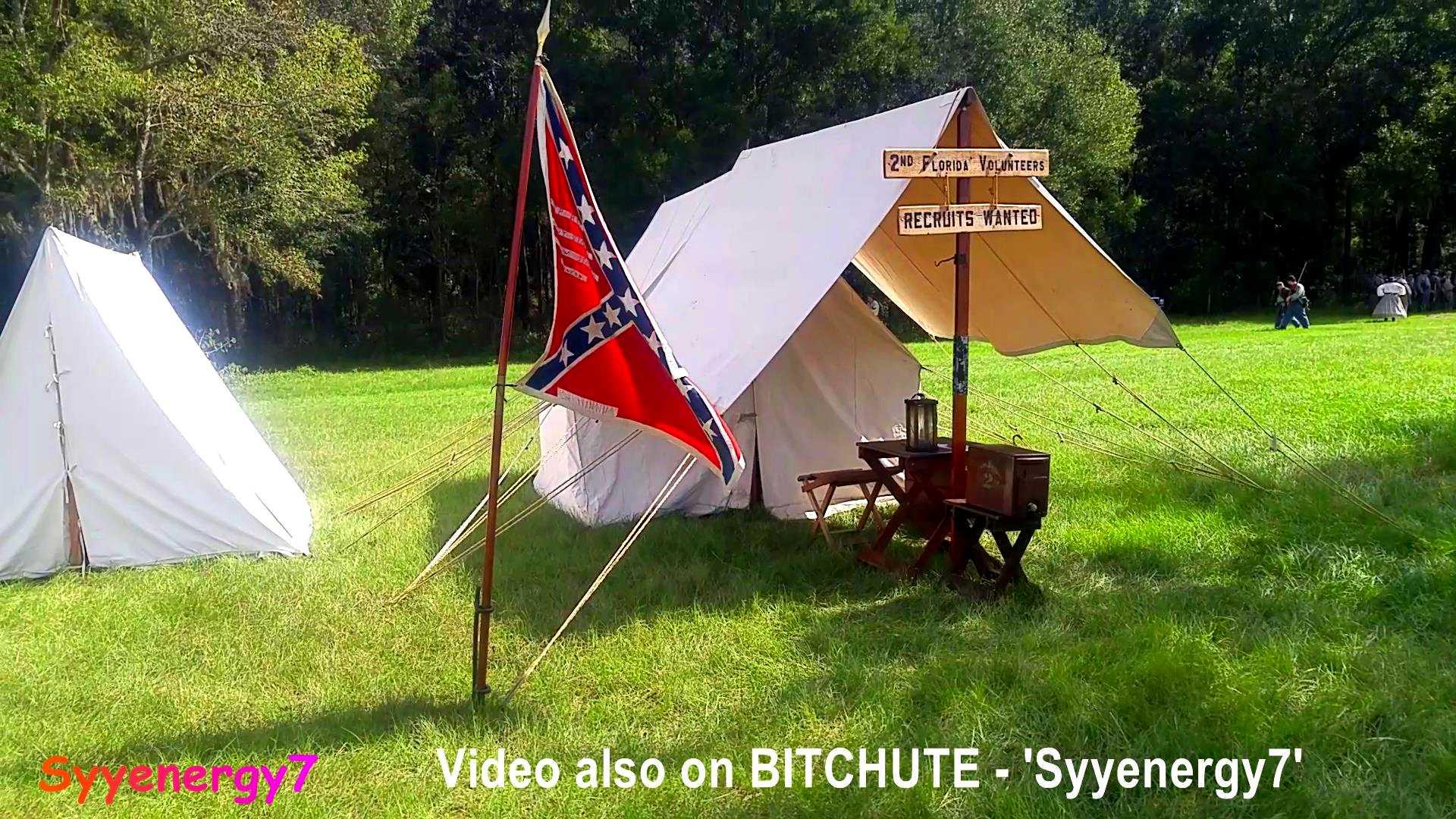 Ocklawaha River Raid 2019 Camp & pre-Battle